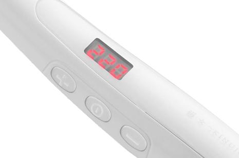絹女 温度表示