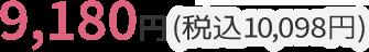 9,180円(税込9,914円)